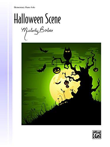 Halloween Scene: Elementary Piano Solo (Piano) (Signature Series) (English Edition)
