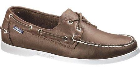 Sebago Docksides, Chaussures Bateau Homme Marron