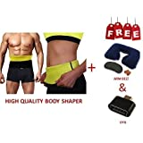 HARLLYCTION Hot Shaper Best Quality Unisex Body Shaper For Women | Men Weight Loss Tummy - Body Shaper Belt Slimming Belt Waist Fitness Belt XL Size 34,35,36,37,38 Of Stomach Size Consider (Slim Belt- XL)