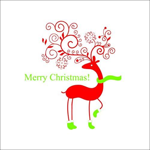 ylckady Neue Heiße Kitz Frohe Weihnachten Wandaufkleber Steuern Dekor Europäischen Und Amerikanischen Großhandel Wasserdicht Abnehmbare