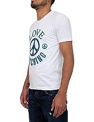 Jersey LOVE MOSCHINO Hombre M 4 731 19 E 1514-A00 Blanco