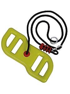 BIG Spielwarenfabrik 800056744 Big Activity Swing - Columpio, color verde y negro