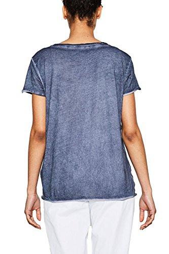 ESPRIT Damen T-Shirt Blau (Ink 415)