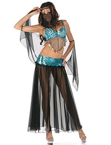 Gorgeous Kleopatra Königin der Nacht Göttin Kostüm Halloween-Kostüme , Indien und arabischen ()