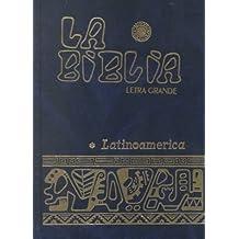 La Biblia latinoaméricana (letra grande)