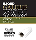 ILFORD GALERIE Prestige Canvas Natural 340 GSM 17 Zoll - 43,2 cm x 12 m 1 Rolle