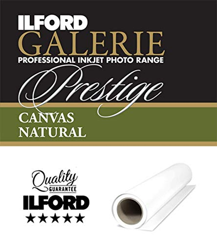 ILFORD GALERIE Prestige Canvas Natural 340 GSM 44 Zoll - 111,8 cm x 12 m 1 Rolle