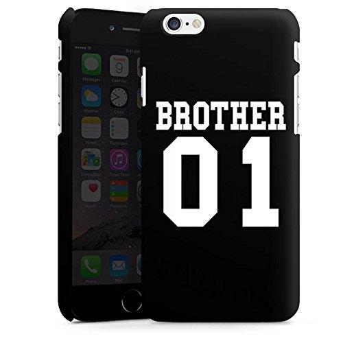 Apple iPhone X Silikon Hülle Case Schutzhülle Brother Bruder Bro Premium Case matt
