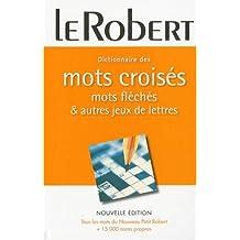Dictionnaire des mots croisés, mots fléchés et jeux de lettres