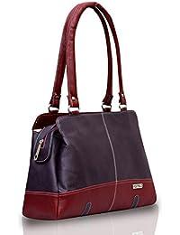 Fostelo Women's Handbag Purple (FSB-410)