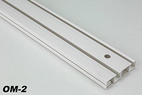 10 metri 2-läufige pvc binari tende tenda a pannello tavole per tende, om-2