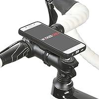 QuickMOUNT 3.0 Kit für Samsung Galaxy A3 (Modell 2016 / SM-A310) Fahrradhalterung & Lifestyle Case mit optionaler IPx3 Schutzhülle (Wicked Chili Fahrradzubehör mit Ladekabel- und Kopfhörer Anschluss) matt schwarz