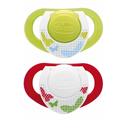 Chicco 00005732000000 - Chupete Physio caucho strong (4 mese + 2 unidades)