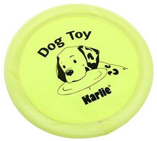 KARLIE Frisbee NYLON für Hunde Größe 18cm