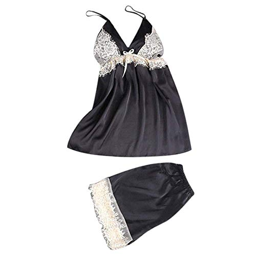 a08ebb2e0b Laisla fashion Lencería Eróticas Set Shapewear Babydoll Clásico Provocativo  Obsesivo Wetlook Chemise Malla Malla Tirantes De