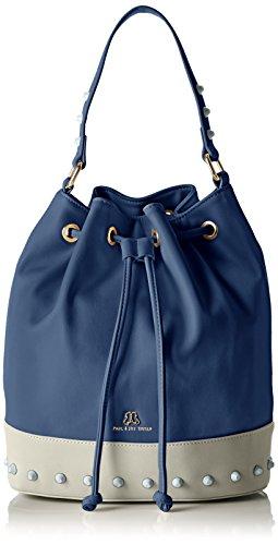 Paul & Joe SisterBucket bag - Borse a Tracolla Donna , Blu (Blau (003)), 26x30x13 cm (B x H x T)