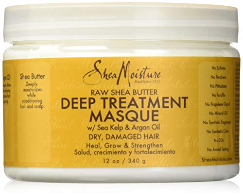 Shea Moisture Raw Shea Butter Deep Treatment Masque, 1er Pack (1 x 340 g) -