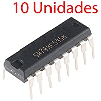 x10 Registro Desplazamiento SN74HC595N 8-bit Shift Register 74HC595 DIP-16 74595