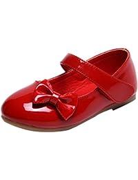 Lopetve Zapatos para niña Zapatillas Sandalias Merceditas Mary Janes Chicas Tamaño