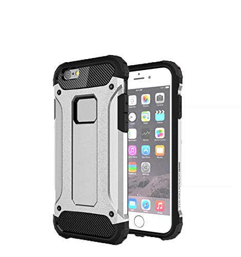 105736a70bc SsHhUu Funda iPhone 6 Plus, 2 in1 TPU + PC Doble Capa Protección A Prueba