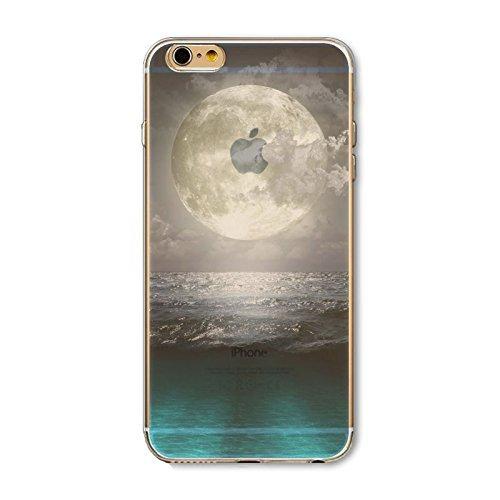 Coque iPhone 6 6s Housse étui-Case Transparent Liquid Crystal en TPU Silicone Clair,Protection Ultra Mince Premium,Coque Prime pour iPhone 6 6s-Paysage-style 9 2