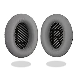 Reytid Bose Quietcomfort 15 Qc15 Qc2 Headphones Grey Replacement Ear Pads Cushion Kit - 1 Pair Earpads