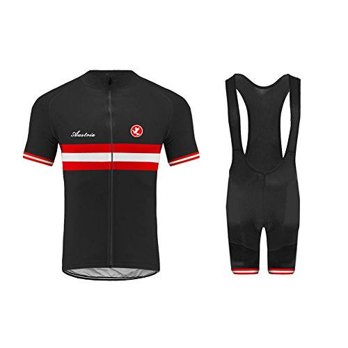 Uglyfrog #03 Sommer Herren Radsport Deutschland Trikot Bike Wear Kurzarm Cycling Jersey+Trägerhosen...