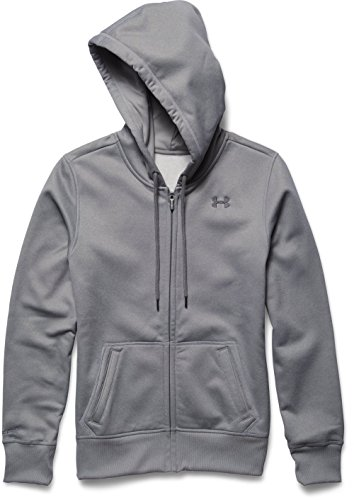 Under Armour Damen Oberbekleidung Storm Full Zip Hoody, grau, L, 1260130-025 (Frauen Zip Für Armour Under Up)