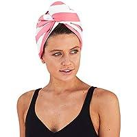 Dock & Bay Hair Wrap Towel Beach Turban - Kuta Pink, One Size - Quick Dry, Compact, Lightweight