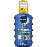 Nivea sun - Immediate protection, spray solar hidratane, factor de protección solar 30-200 ml