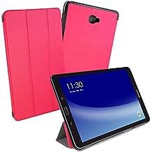 Tuff-Luv Smart Funda para Samsung Galaxy Tab A 10.1 - Rosa