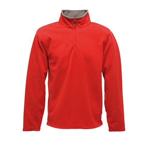 Regatta Mens Ashville 240 Series Microfleece Jacket Sun Orange