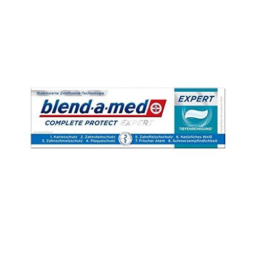 Zahnpasta Minze (blend-a-med Complete Protect Expert Tiefenreinigung Zahnpasta Minze 75ml, 2er Pack (2x 75ml))