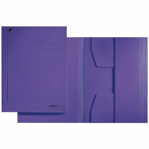 Co-klappe (Jurismappe A4 LEI 3924-00-65 * 3 Klappen 320g Karton violett)