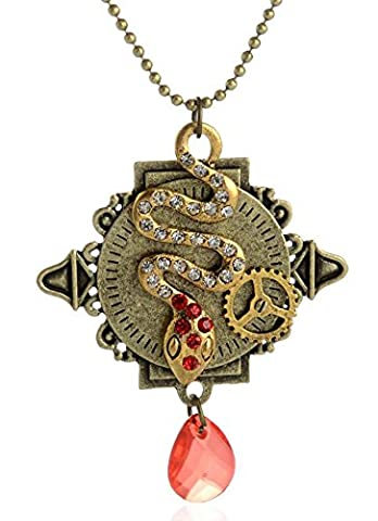 SaySure - Vintage Classic Steampunk Necklaces & Pendants Snake