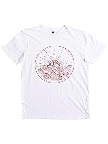 Herren T-Shirt Quiksilver Mountain Sunshine T-Shirt White