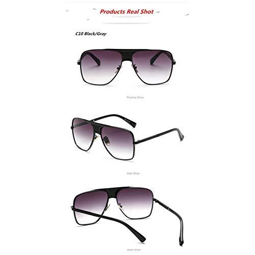 TYJYTM Hochwertige Sonnenbrillen Outdoor Vintage Herren Sonnenbrillen Identity Spectacles