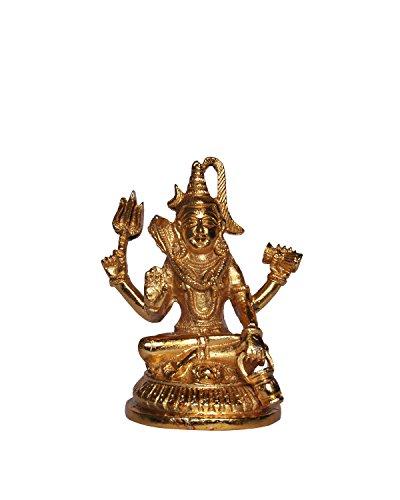 Craftspark God Of Luck Grace Power Gold Lord Shiv ji / Shiva...