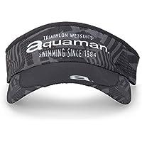 Aquaman Manhatan Visera Running y Triatlón, Sin género, Negro, U