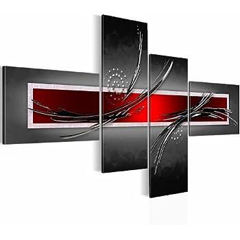 Sensationspreis bilder wandbild vlies leinwand 130 x 72 5 cm abstrakt bild - Amazon wandbilder ...