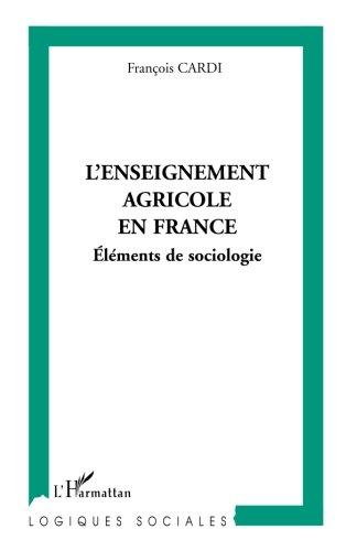 L'enseignement agricole en France