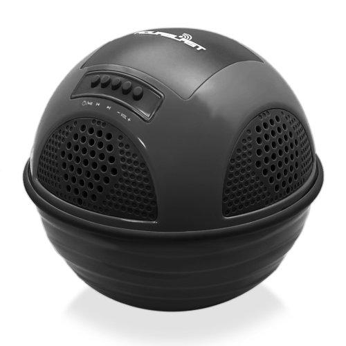 Pyle Lautsprecher Aqua Blast Swimmende Bluetooth Pool mit integrierte Akku und Drahtlose Musik, Schwarz, PWR90DBK -
