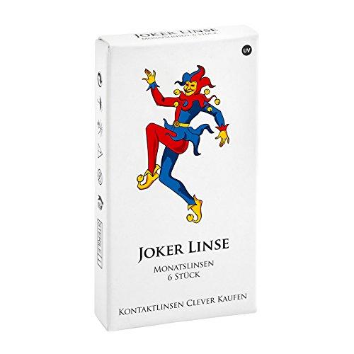 Joker Linse, Monatslinsen weich, 6 Stück / BC 8.50 mm / DIA 14.20 mm / -7 Dioptrien