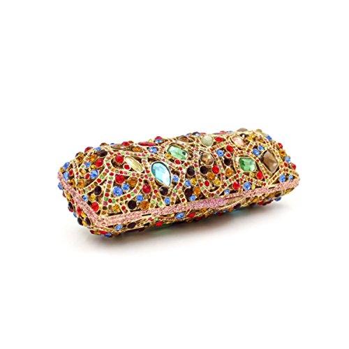 Fascia Di Alta Qualità Del Pacchetto Banchetto Del Sacchetto Di Sera Del Diamante Di Lusso Delle Donne OneColor