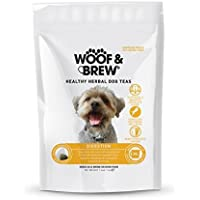 Woof & Brew Dog Day Herbal Digestión Saludable Té 28