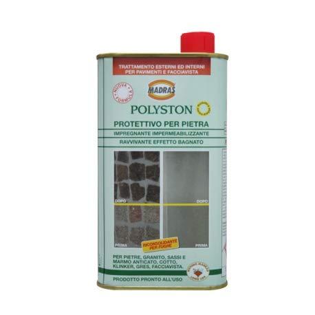 Polyston Imprägnierung Effekt belebend für Stein LT.1