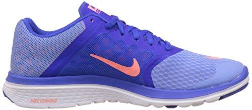 Nike Fs Lite Run 2 684667 Damen Laufschuhe Training Chalk Blue/Racer Blue/White/Atomic Pink