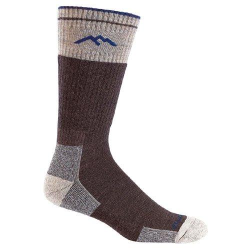Darn Tough Vermont Merino Wool Boot Cushion Sock (Chocolate, Large) -