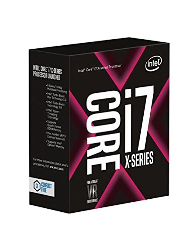 Intel Core i7 7800X - Procesador para CPU, Color Plata