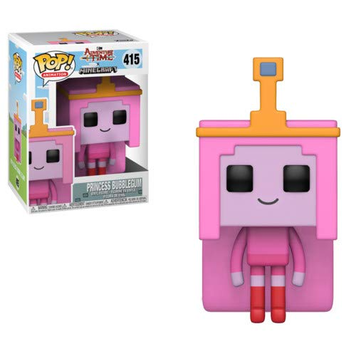 Funko–Adventure Time/Minecraft Idea Regalo, Statue, collezionabili, Comics, Manga, Serie TV,, 32253